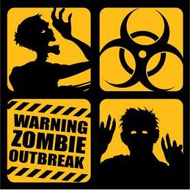 Zombie Outbreak Icons